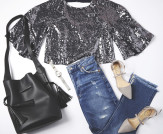 3 Ways to Wear Sequins for Daytime