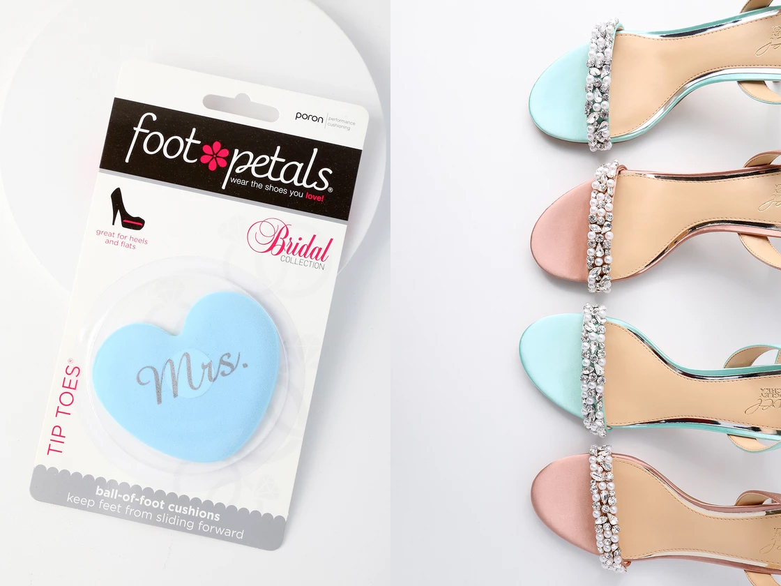 engagement gifts - foot petals