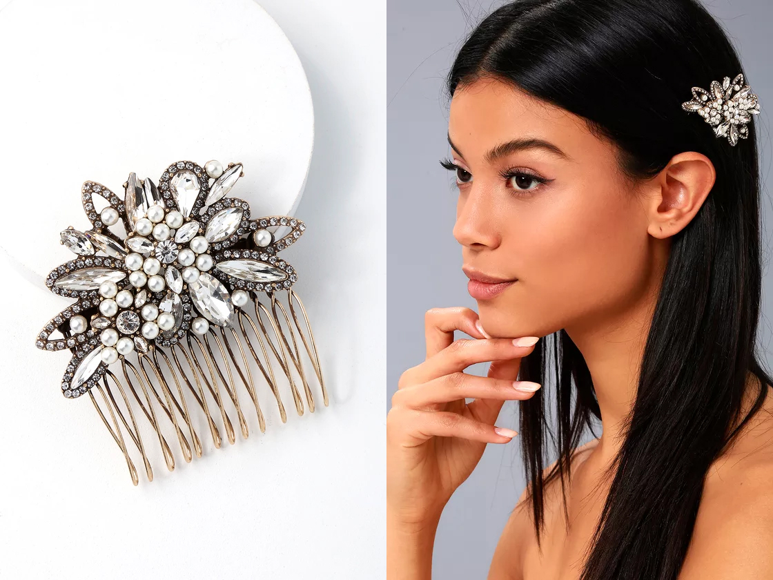 engagement gifts - hair comb