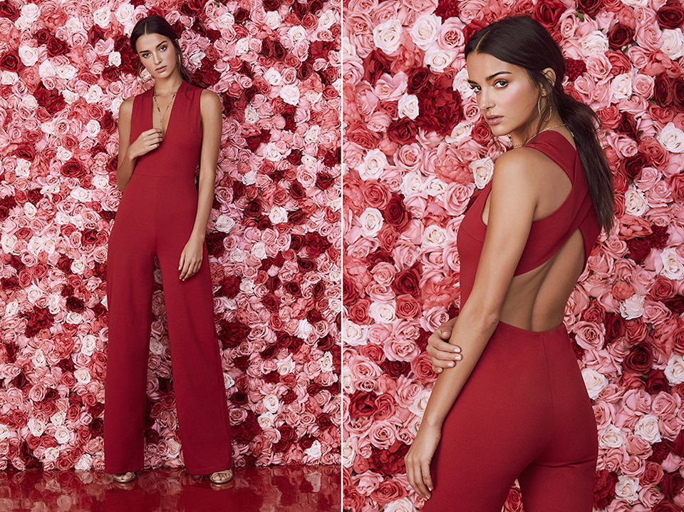 valentine's day looks - jumpsuit