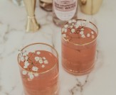 Happy Hour: Rose Royale Cocktail