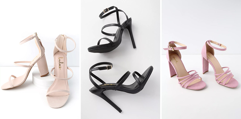 Prom Shoes - Simple and Strappy
