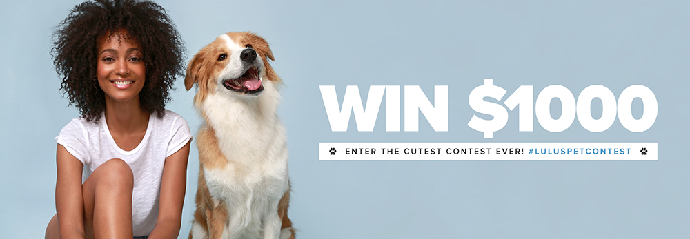 enter the pet selfie contest