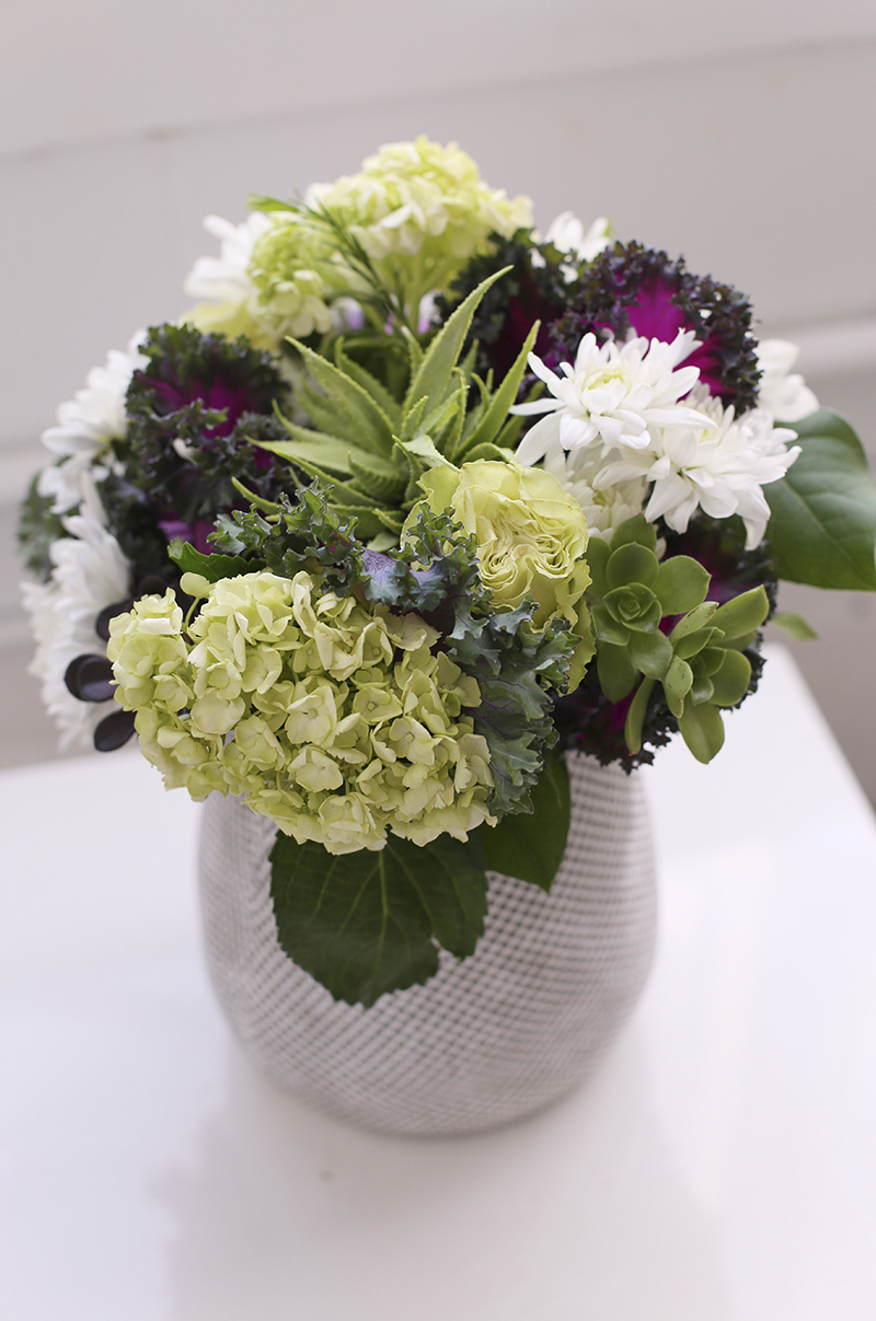 floral arrangement - on trend