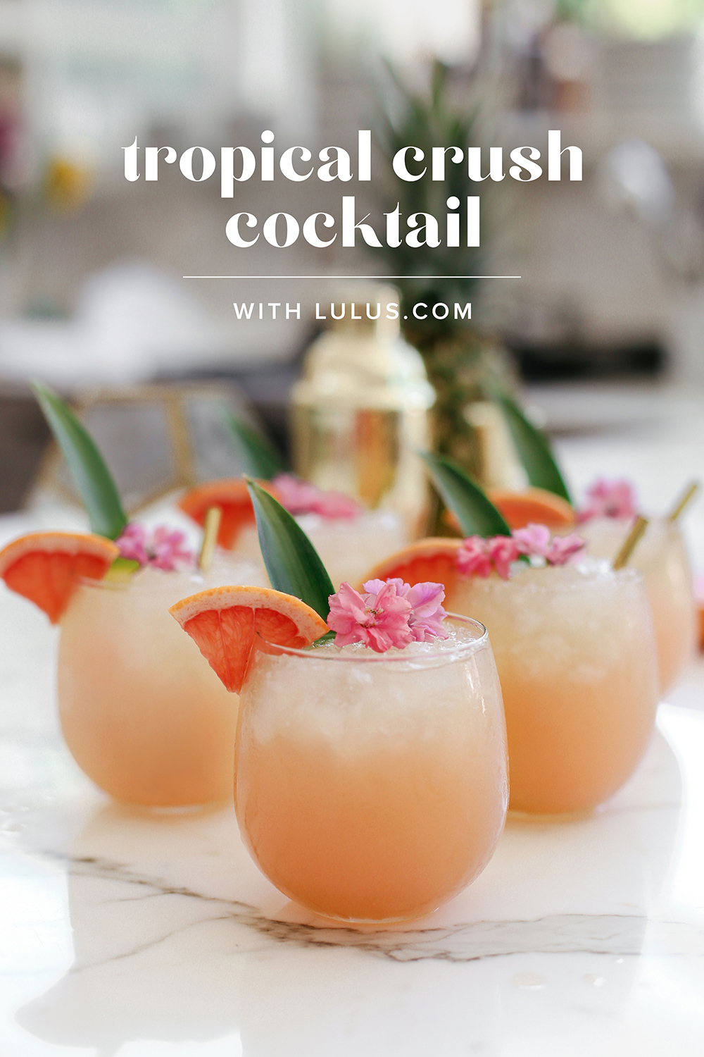 tropical crush cocktail - image 1