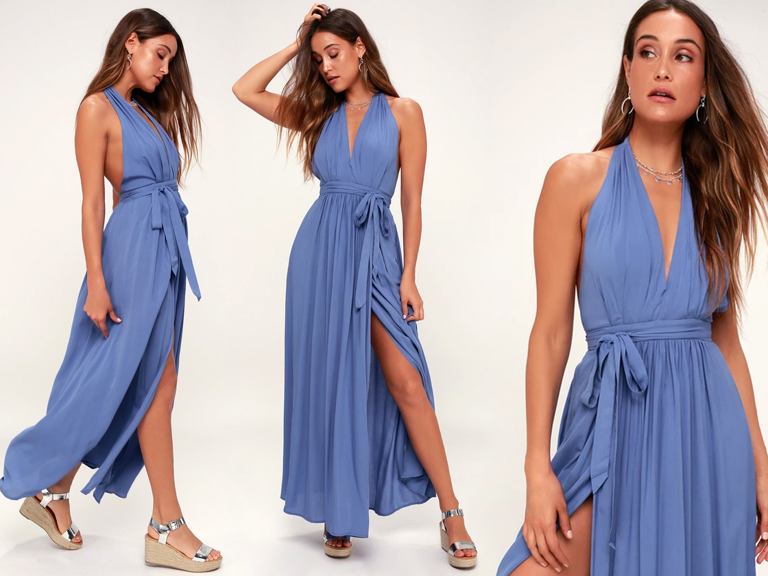 summer formal - wrap dresses