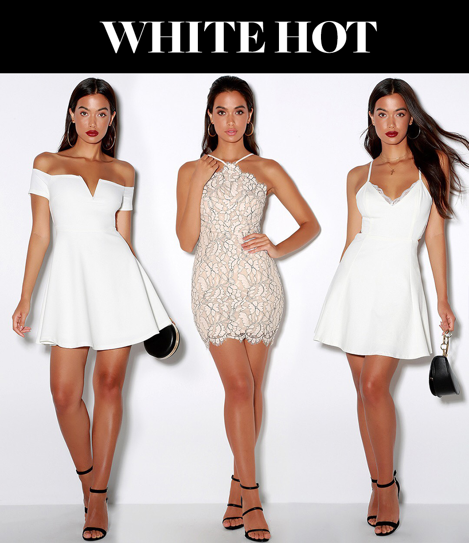 homecoming dress trends - white dresses for homecoming