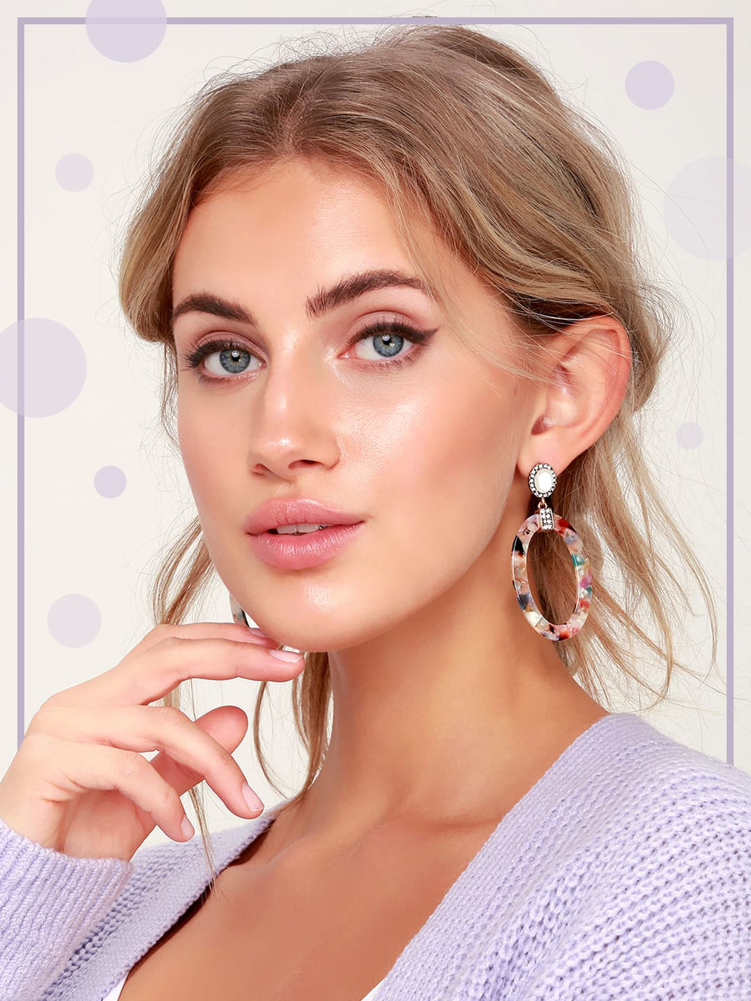 add statement earrings to your fall outfits
