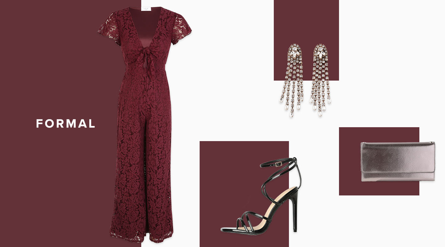 how to wear a jumpsuit to a formal wedding