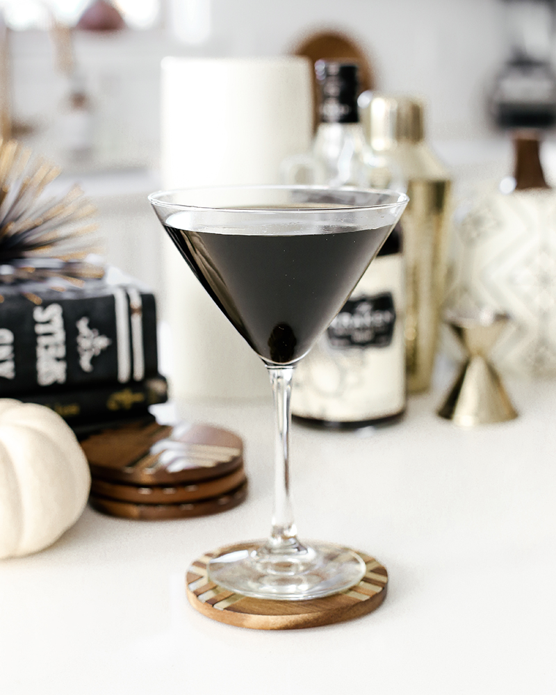 enjoy your midnight magic cocktail at your halloween party
