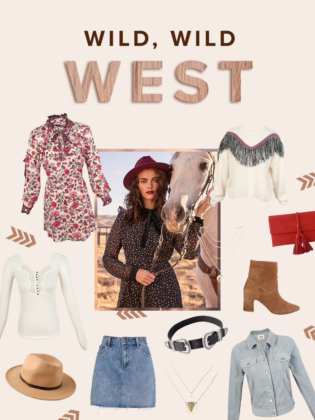 add the western trend to your closet with cute styles from lulus