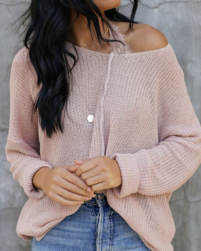 eloise sweater in a calming color