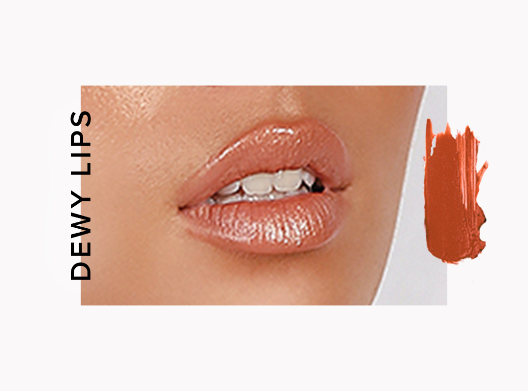 dewy lip trend for fall 2018