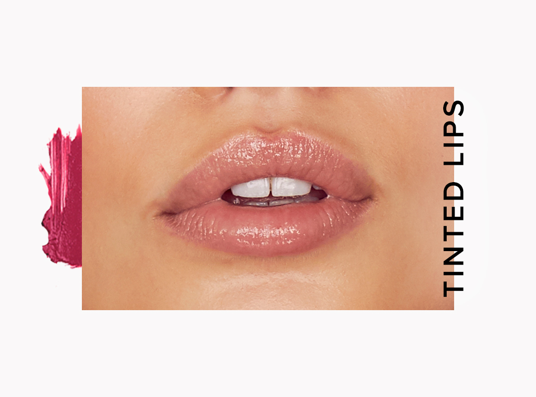 tinted lip trend for fall 2018 beauty