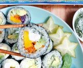 Vegan Jade Rice Sushi Recipe