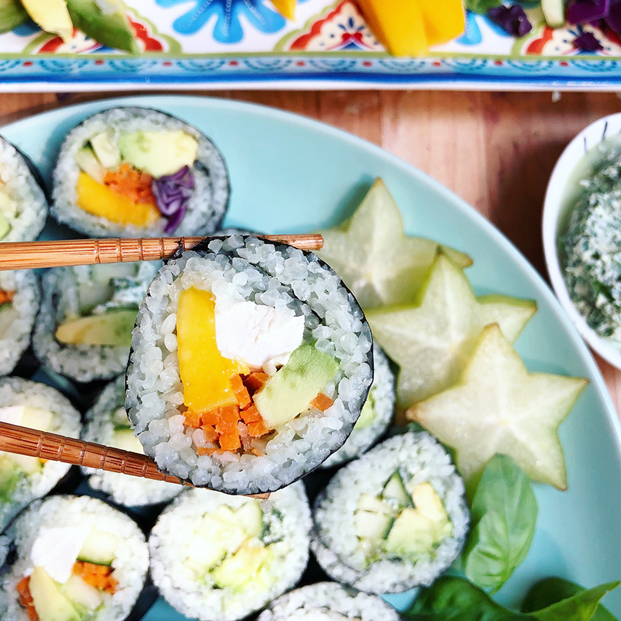 make your own sushi!