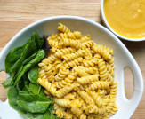 Cheesy Vegan Pumpkin Pasta