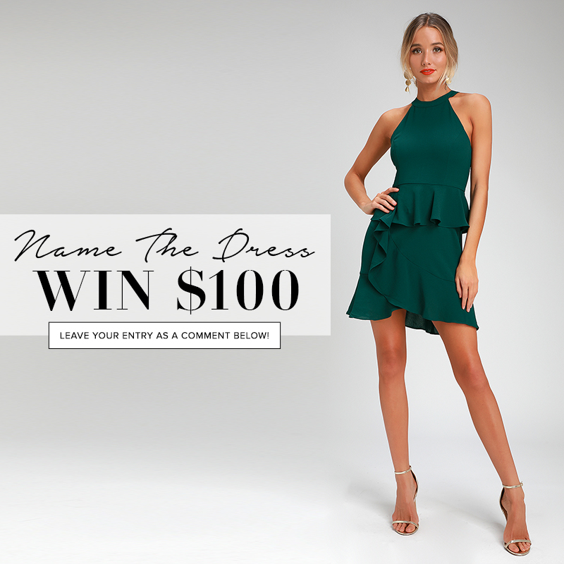 name the dress - enter to win