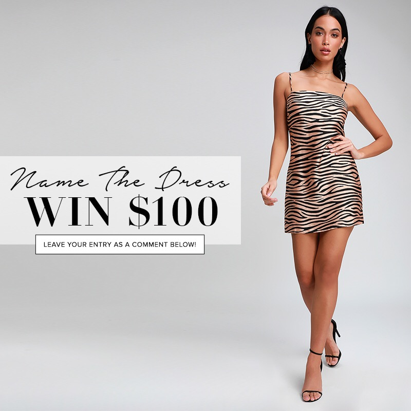 Name the dress Lulus contest