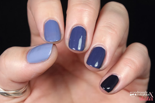 Mani Monday Five Color Ombre Nail Tutorial At LuLus