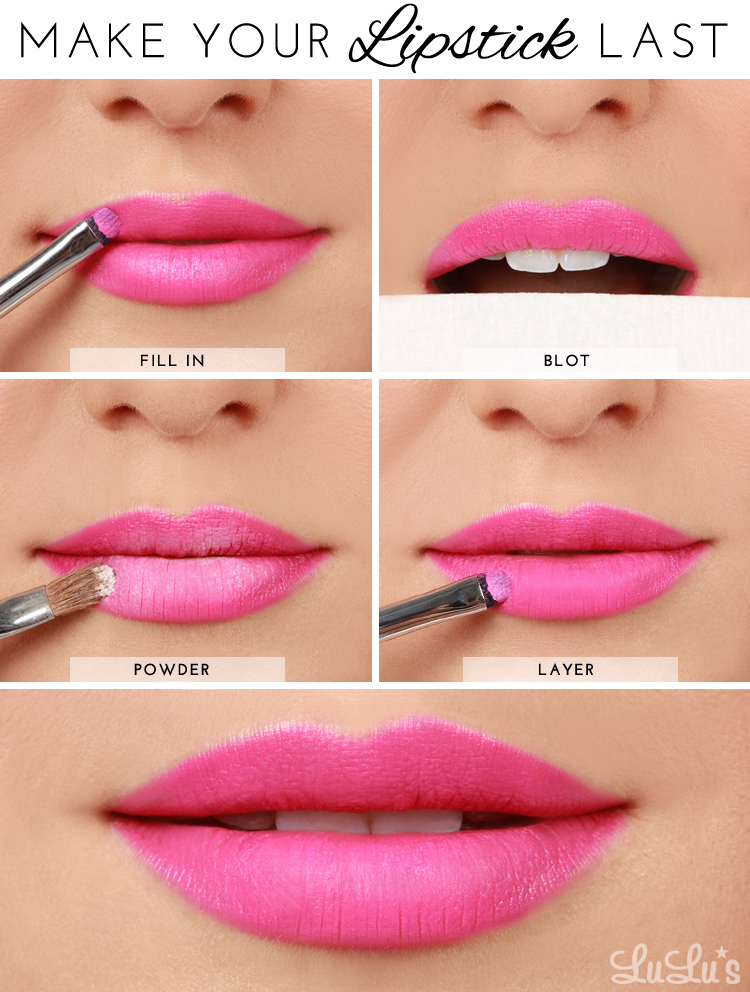 Lulus How-To: How To Make Your Lipstick Last Beauty