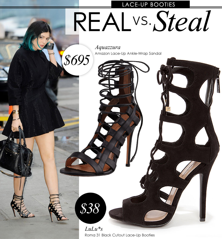 c125462f022 Real vs. Steal - Aquazzura Amazon Sandals - Lulus.com Fashion Blog