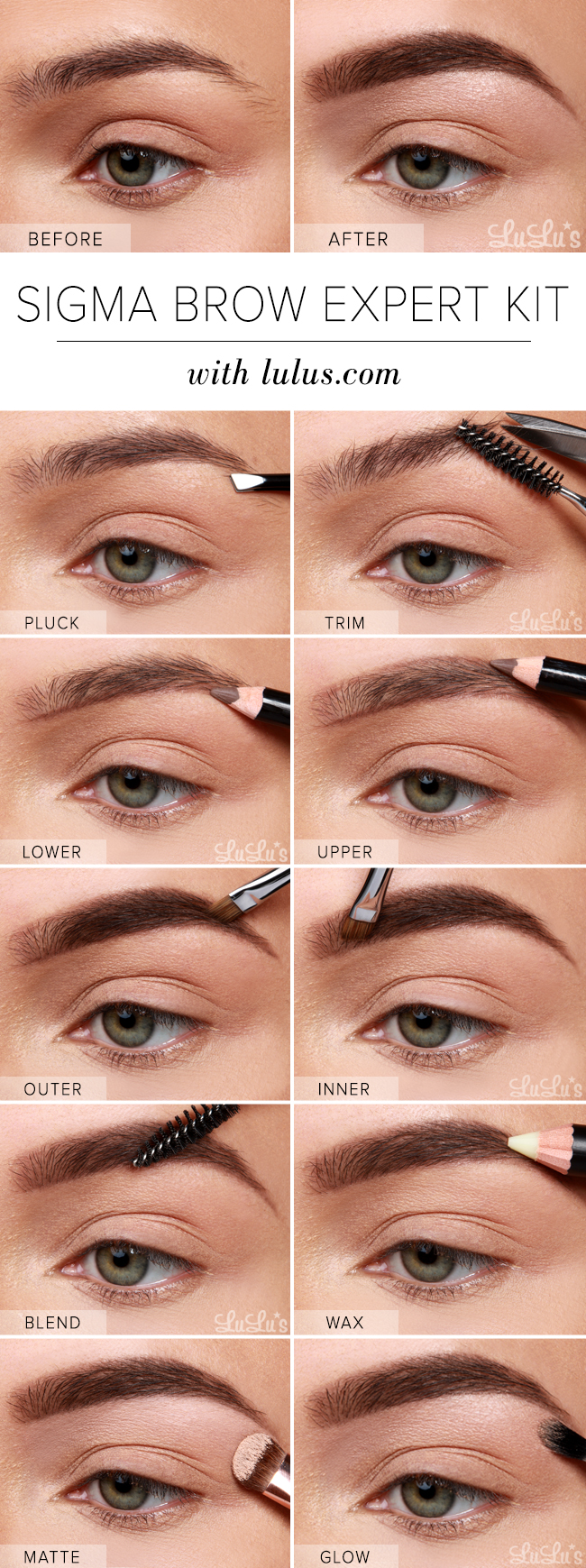 Brow Highlighting Pencil by Sigma #22