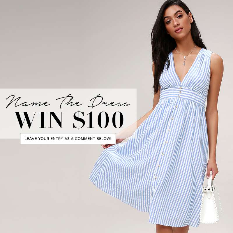 4126cf5c4ce name the dress - blue and white striped button up midi dress