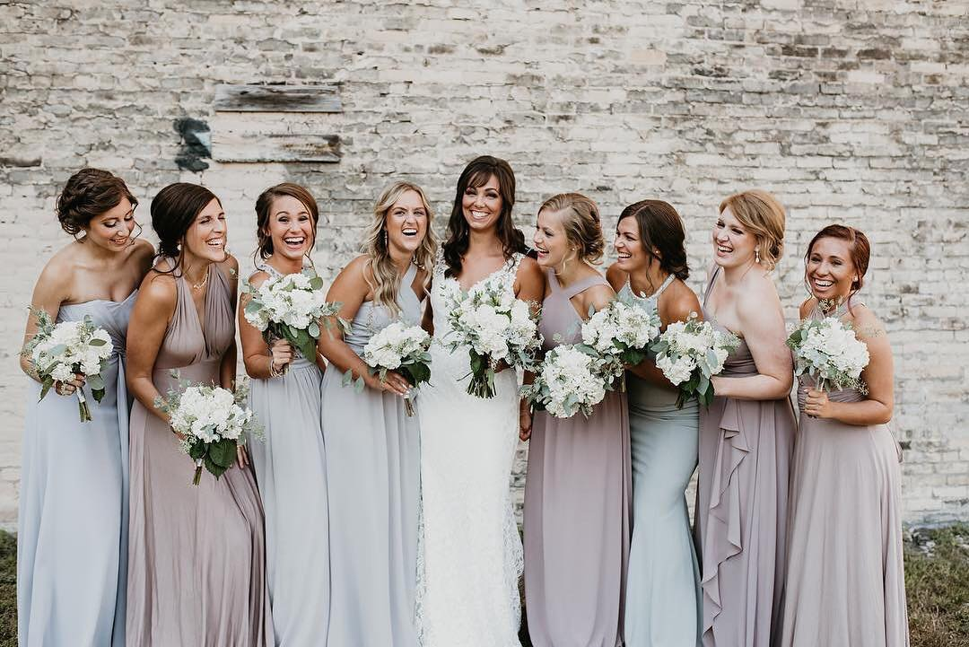48387ca732 mismatched bridesmaid dresses - long bridesmaid dresses -bridesmaid dresses  mix and match styles - mismatched